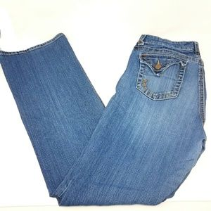 Kut from the Kloth midwash blue jeans